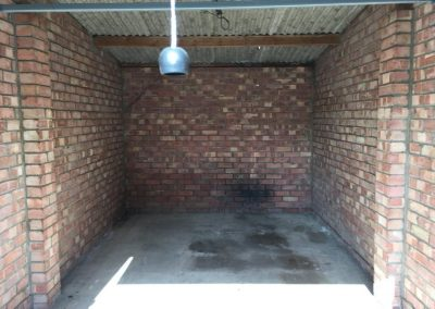 Garage Clearance service - cleared garage by Crown Clearance Cheltenham