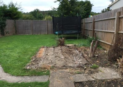 No Skip needed - Shed demolition and green house demolition from Crown Clearance in Cheltenaham